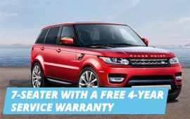 THE 2016 RANGE ROVER SPORT FROM CHF 67,500.-