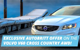 EXCLUSIVE AUTOBRITT OFFER ON THE VOLVO V60 CROSS COUNTRY AWD!