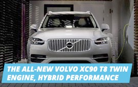 TEST AN ALTERNATIVE IDEA OF LUXURY WITH THE VOLVO XC90 T8