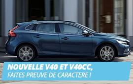VOLVO V40 & V40CC UN STYLE URBAIN POUR LA VILLE