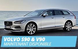 Les nouvelles Volvo S90 et V90 sont arrivées chez Autobritt