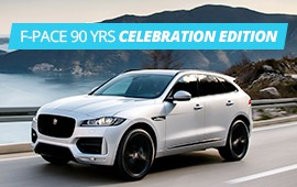 F-Pace 90 YRS  Celebration Edition