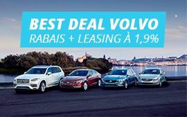 Profitez des Best Deals Volvo