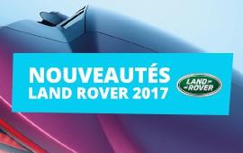 Nouveautés Land Rover 2017