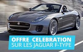 Offre Celebration sur les Jaguar F-Type et F-Type Convertible