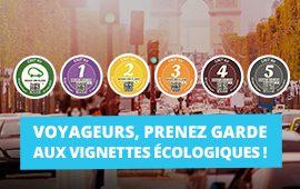Voyageurs, prenez garde aux vignettes écologiques !