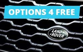 Options 4 Free sur l'achat de votre nouveau Land Rover