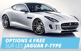 OPTIONS 4 FREE sur les JAGUAR F-TYPE