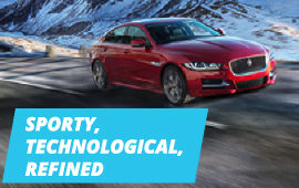THE ALL-NEW JAGUAR XE AWD  …