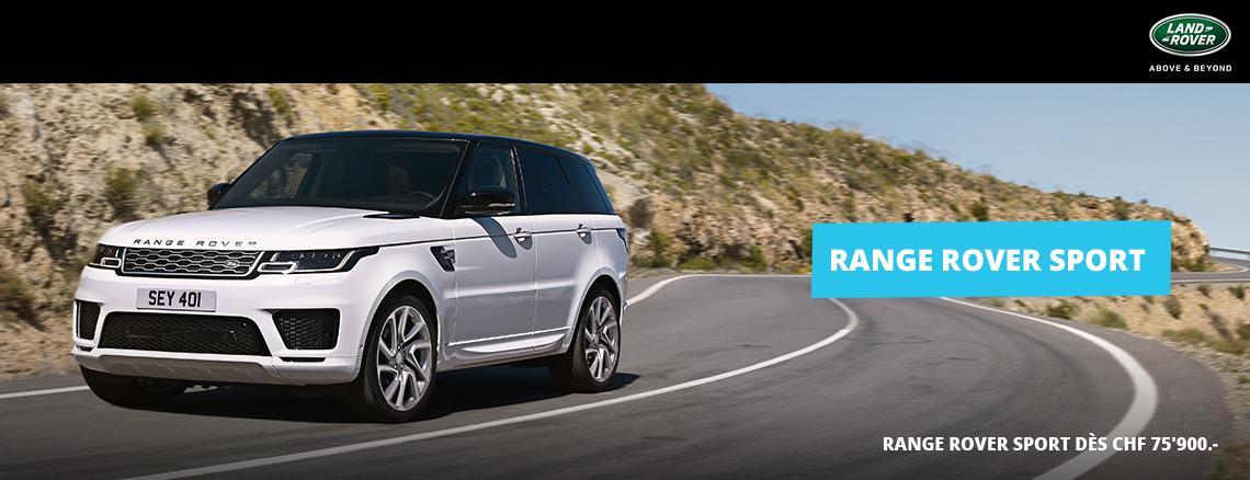Range Rover Sport s'Hybride