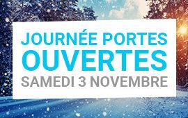 Journée Portes ouvertes samedi 3 novembre