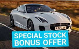 Spécial stock BONUS OFFER sur tous nos véhicules de stock