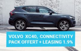 Volvo XC40, restez connecté