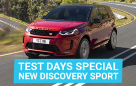 Test Days special new Discovery Sport