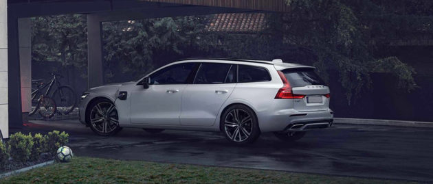 Volvo V60 Recharge for Business